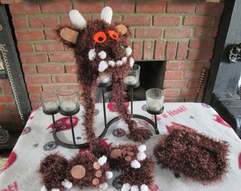 six piece Gruffalo photo prop, made to order only!