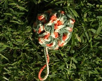 Hand Crocheted Shower Puff