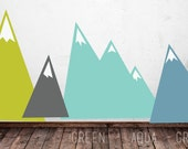 Moving Mountains-  LARGE WALL DECAL