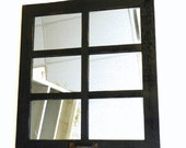 "SALE 20"" x 22.5"" (6 pane) window mirror"