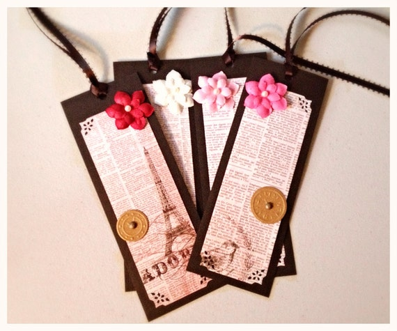 Bookmark Party Favors, set of 12