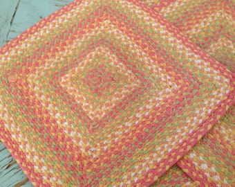 Braided Rug Placemats