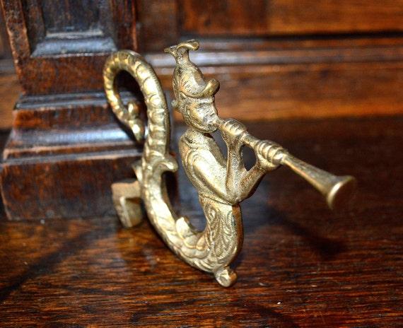 Antique english brass ornate gothic church by vintagefleafinds