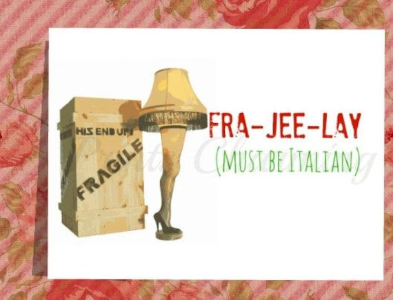 Items similar to A Christmas Story Fragile Leg Lamp Major ...