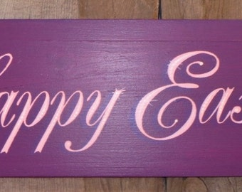 Decorative sign, Speciality sign, Easter sign