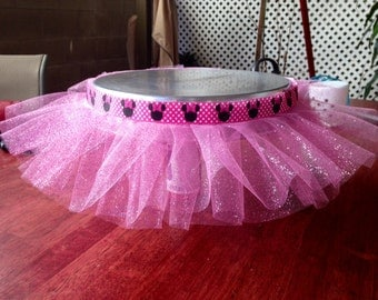 Minnie Mouse Princess Tutu For a Cake Stand