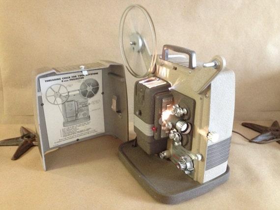 Keystone 8mm projector Manual