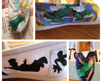 Peter Pan Handpainted Toms EXAMPLE
