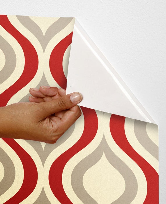Removable self adhesive colourful vinyl wallpaper wall sticker for Self adhesive vinyl wallpaper