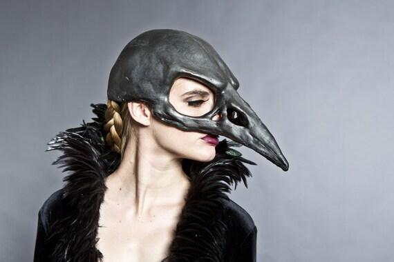 Ram Skull Mask Bird sk...