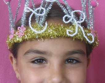 CTR Tiara. Personalized baptism gift. Choose the RIGHT tiara. A treasured heirloom to mark the occasion.