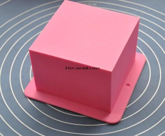 cube carr souple en silicone moule moule moule chocolat. Black Bedroom Furniture Sets. Home Design Ideas