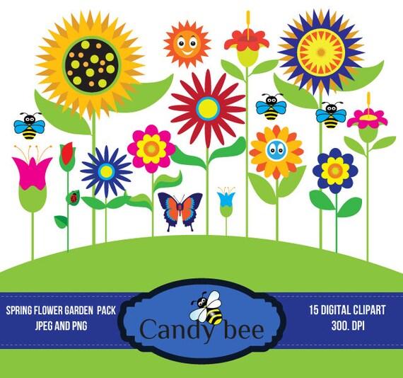 Free garden flower border clipart clipartmansion mothers day spring flowers clipart orange pink mightylinksfo