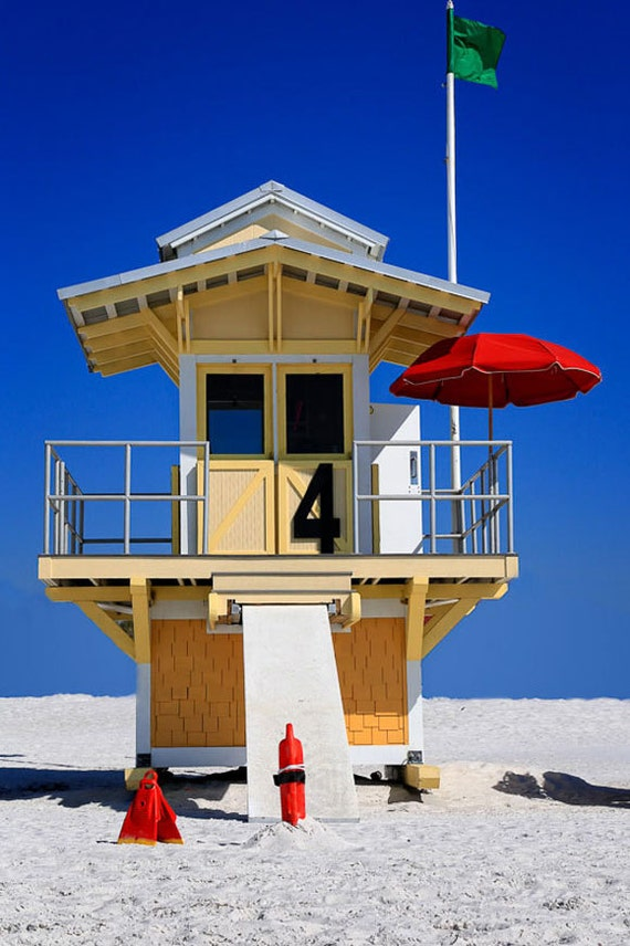 coloring pages of lifeguard stand - photo#36