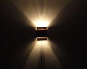 Triple Rectangle,  Wall Light Fixture