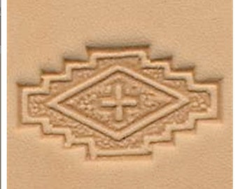 Southwest Geometric Leather Stamp Tool