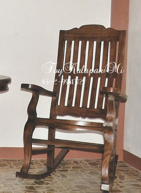 reclaimed old wood vintage rocking chair by toykalapawmi on etsy