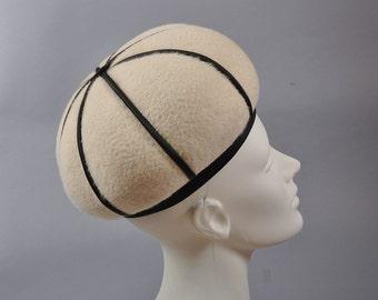 1960s Onion Dome Toque Hat - André Paris, NY