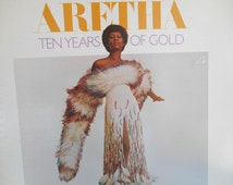 Aretha Franklin- Ten Years of Gold Vinyl Record