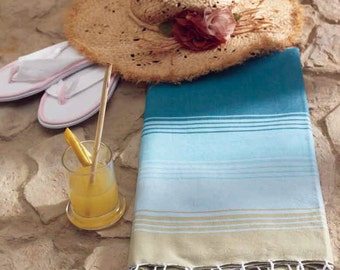 Rainbow Beach Peshtemal - Turkish Towel
