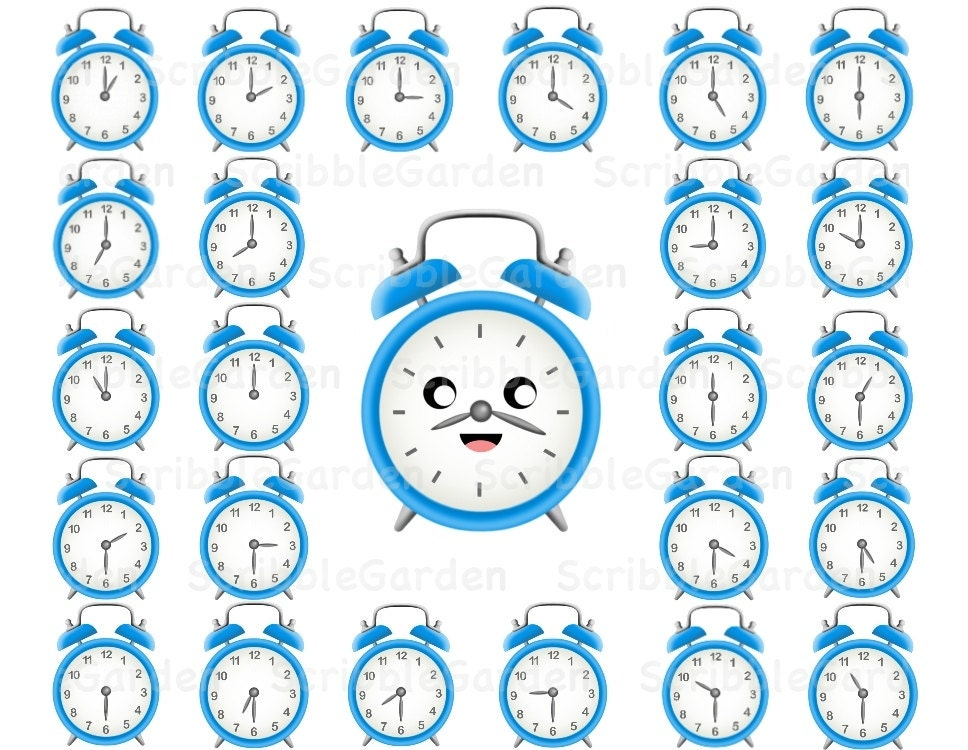 Clock Picture Worksheet What time is it? Telling Time Clock