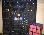 Photo Booth Pacman 80's Theme Backdrop, 80's Party, Totally 80's, Party Decor, Birthday Party Decor, Photo Prop, Kids Photo Prop, Video Game