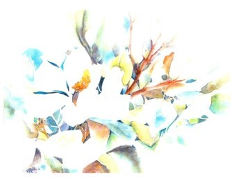 WATER COLOR Made to Order - Water color of scenery, flowers, and more
