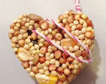 200 Bird Seed Heart Shaped Favor MINI- Wedding and Events - bird seed favor