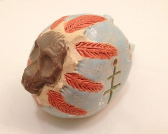 blue skull whistle