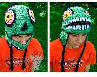 Zombie Mask Hat