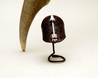 Leather Ring ~ The Provider
