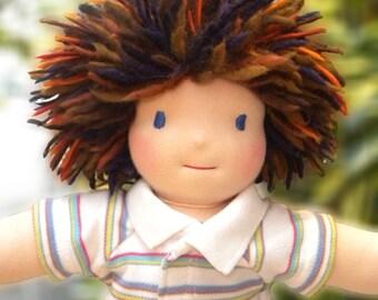 Handmade Waldorf Doll - Boy
