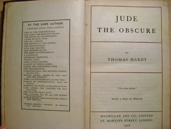a comparison of dreams and realities in jude the obscure by thomas hardy and a kind of loving by sta Jude the obscure by thomas hardy 433 but in the themes that range from how human loneliness and sensuality can stop a person from trying to fulfill his dreams.