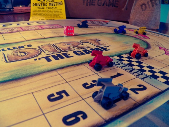 Sprint Car Racing Board Game