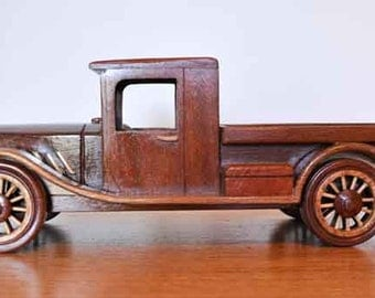 Handcrafted Timber 1920s truck