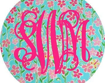 Car Monogram, Monogram Car Decal