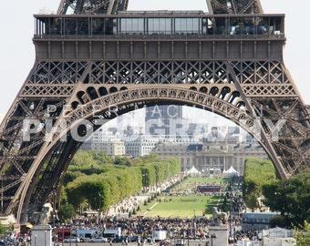 Eiffel Tower Gardens View - Eiffel Tower - Paris