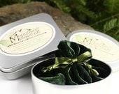 Mountain Metalcraft Gift Wrap, Gift Tin & Velvet Bag, Packaging