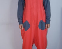 Funny Adult Pajamas One Piece Pyjamas All in One from 100% cotton