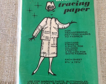 Tracing Paper from Dyno 50's Vintage !