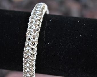 Round Maille Weave Bracelet