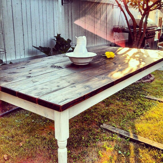 The virginia table sale custom wood hand crafted rustic for Rustic farm tables for sale