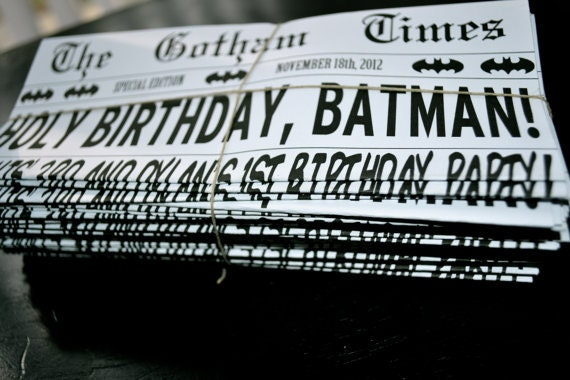 Comic Book Newspaper to Batman Comic Book Style