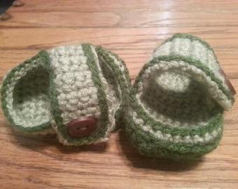 Infant Green sandles