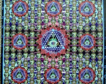 25i-NBOMe Blotter Art - Double Sided