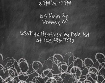 Hearts Invitation