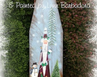 Father Snow by Lynn Barbadora....  email pattern packet
