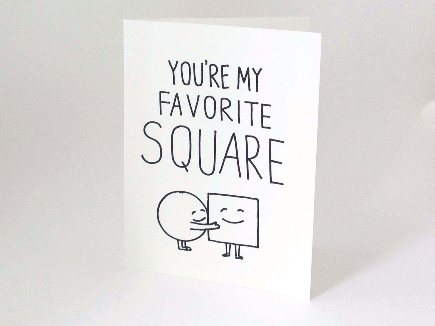 cute love card for boyfriend // anniversary card for husband, Birthday card