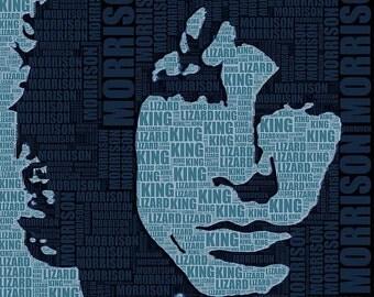 Jim Morrison The Doors Giclee Print