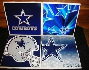 Dallas Cowboys Coasters (set of 4)